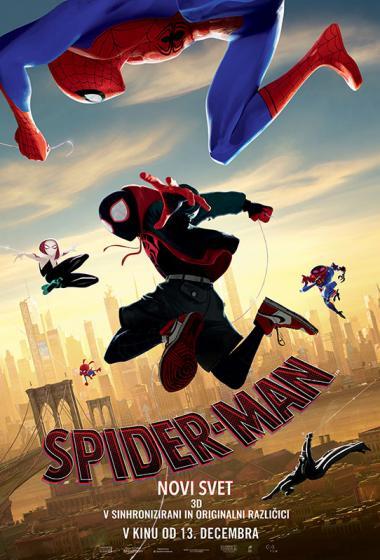 Spider-Man: Novi svet (sinhronizirano) 3D - poster