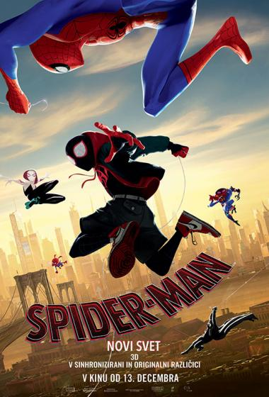 Spider-Man: Novi svet (sinhronizirano) - poster