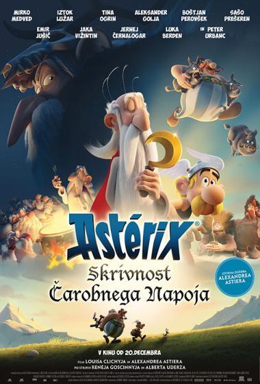 Asterix: Skrivnost čarobnega napoja (sinhronizirano) 3D - poster
