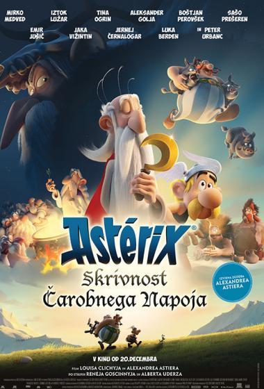 Asterix: Skrivnost čarobnega napoja (sinhronizirano)  - poster