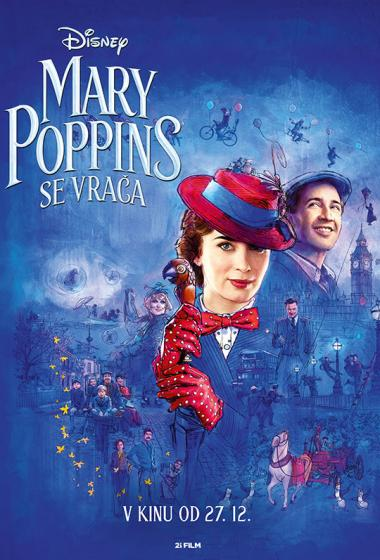 Mary Poppins se vrača - poster