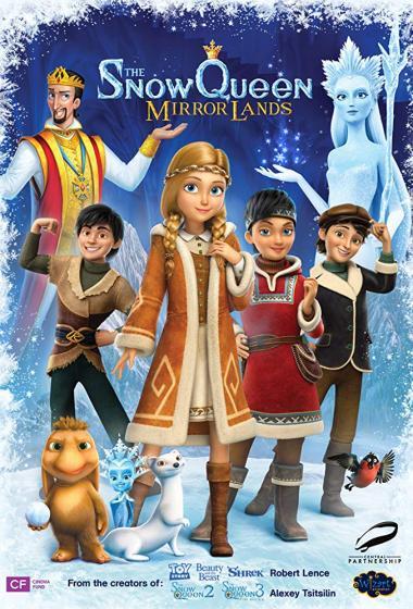 Snežna kraljica: Dežela zrcal (sinhronizirano) 3D - poster