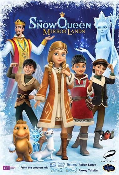 Snežna kraljica: Dežela zrcal (sinhronizirano) + delavnica - poster