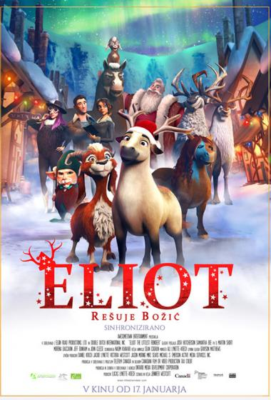 Eliot rešuje božič (sinhronizirano) - poster