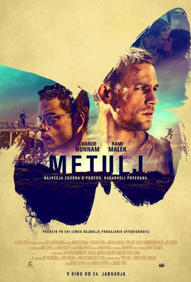 Metulj - poster