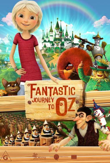 Čudežno potovanje v Oz (sinhronizirano) 3D - poster