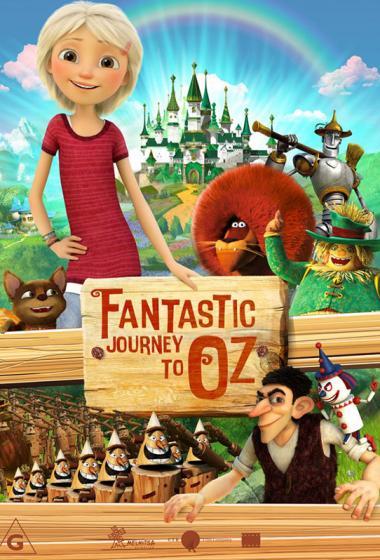 Čudežno potovanje v Oz (sinhronizirano)  - poster
