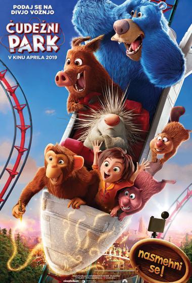Čudežni park (sinhronizirano) 3D - poster