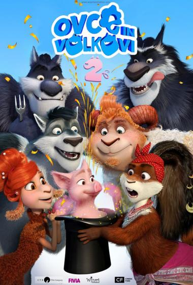 Ovce in volkovi 2 (sinhronizirano) - poster