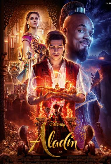 Aladin 3D - poster
