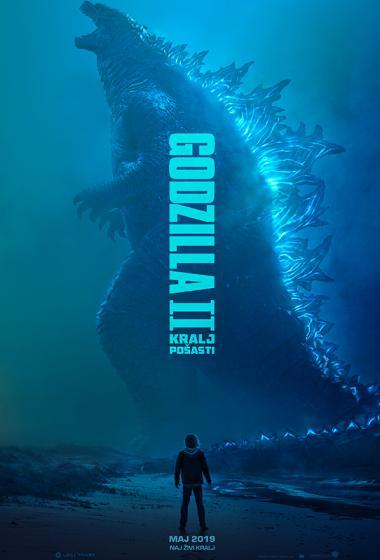 Godzila II: Kralj pošasti - poster