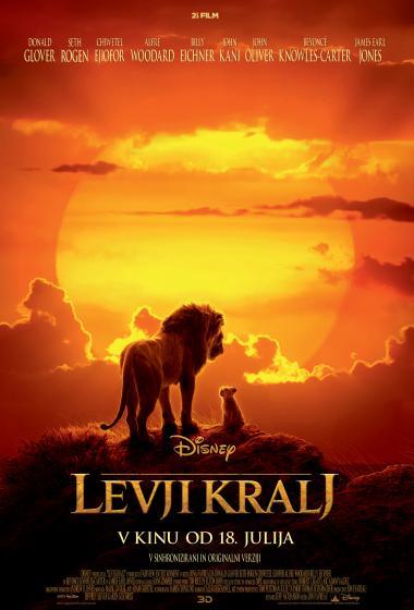Levji kralj 3D (sinhronizirano) - poster