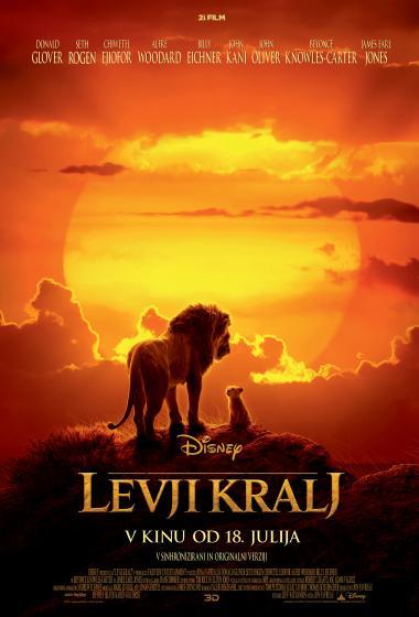 Levji kralj (sinhronizirano) - poster