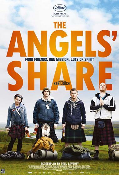 Angelski delež | Kino nad mestom (vstop prost)  - poster