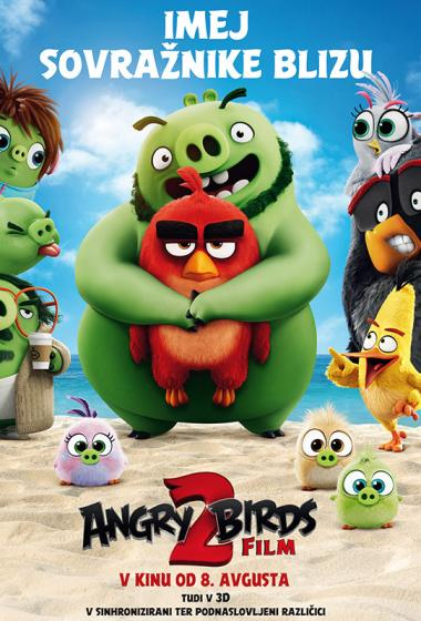 Angry Birds Film 2 (sinhronizirano) 3D - poster