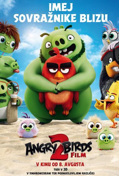 Angry Birds Film 2 (sinhronizirano) - poster
