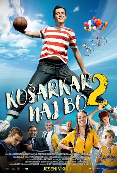 Košarkar naj bo 2 | Kino nad mestom (vstop prost)  - poster