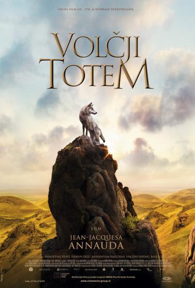 Volčji totem | Dnevi kitajske kulture (vstop prost)  - poster