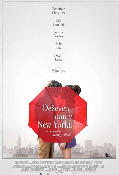 Deževen dan v New Yorku - poster