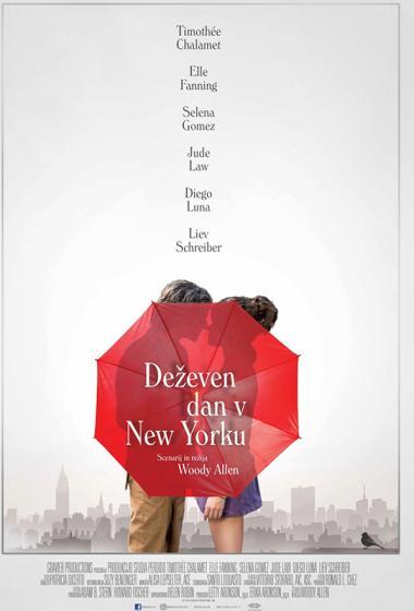 Deževen dan v New Yorku   Filmsko gledališče - poster