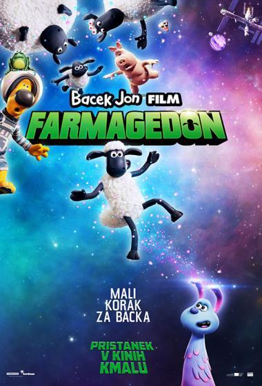 Bacek Jon film: Farmagedon (sinhronizirano) + delavnica - poster