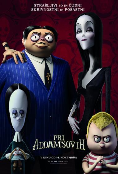 Pri Addamsovih (sinhronizirano) 3D - poster