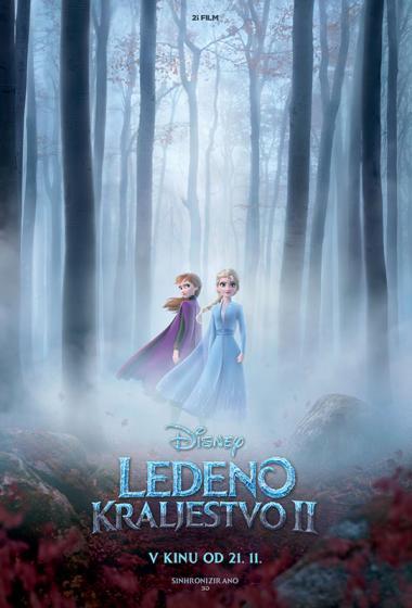 Ledeno kraljestvo 2 (sinhronizirano) 3D - poster