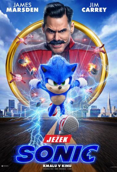 Ježek Sonic (sinhronizirano) - poster