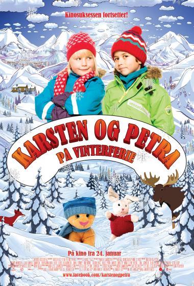 Gašper in Petra na zimskih počitnicah  - poster