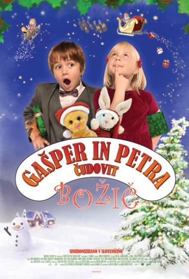 Gašper in Petra – čudoviti božič - poster