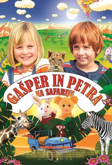 Gašper in Petra na safariju - poster