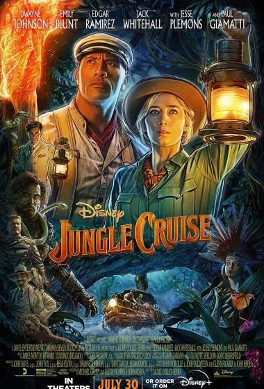 Križarjenje skozi džunglo - poster