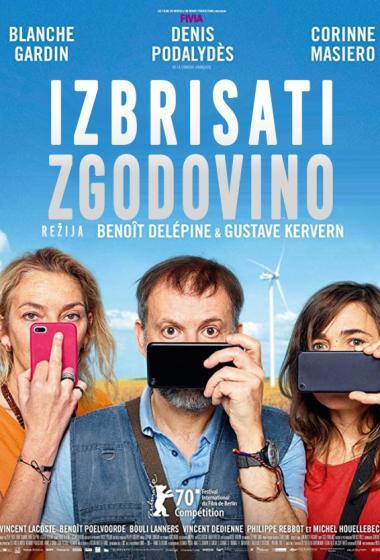 Izbrisati zgodovino   Kino nad mestom (vstop prost)  - poster