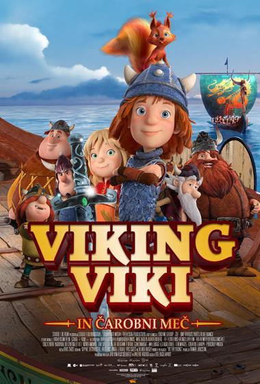Viking Viki in čarobni meč (sinhronizirano) - poster