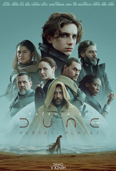 Dune: peščeni planet - poster