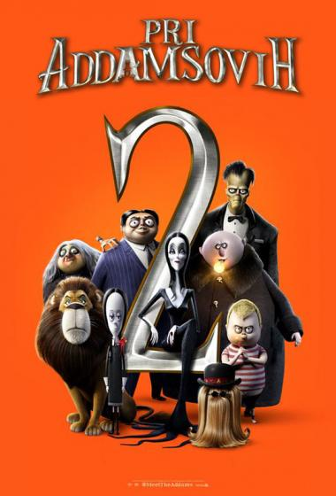 Pri Addamsovih 2 (sinhronizirano) - poster