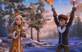 Snežna kraljica 3: Ogenj in led (sinhronizirano) + delavnica