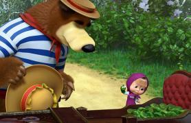 Maša in Medved (sinhronizirano)