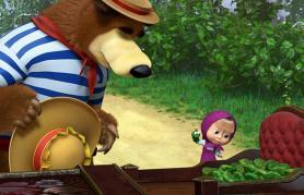 Maša in Medved (sinhronizirano) + delavnica