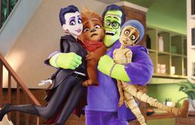 Vesela pošastna družina (sinhronizirano) + delavnica