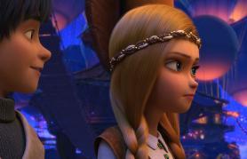 Snežna kraljica: Dežela zrcal (sinhronizirano) + delavnica